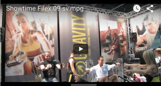 Gravity System at Fitex 2009