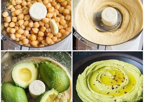 Healthy Hummus – Protein Rich