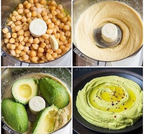 Healthy Hummus – Protein Rich
