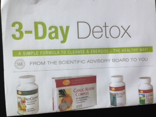 3-Day DETOX – safely