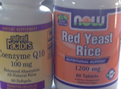 STATIN or RED YEAST RICE and COQ10 with zero side affects and proven change in LDL cholesterol